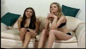 Asian and white slut fuck randy stud